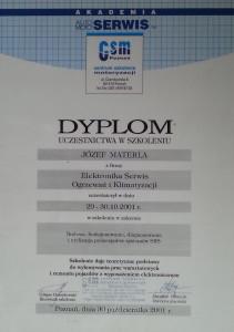 dyplom systemy srs dla serwisu klimatyzacji ogrzewania samochodowego